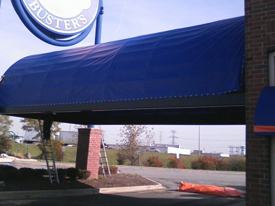Dave & Buster's Awning—After